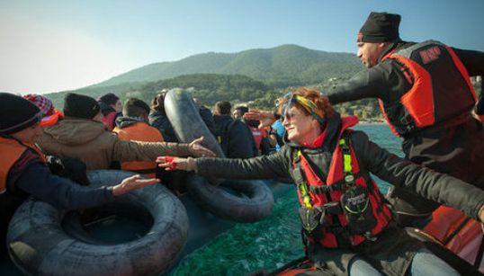 La Traversée: reportage à 360° sur les réfugiés de Lesbos avec Susan