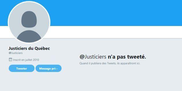 Les Justiciers Masqués disparaissent des médias sociaux et ça fait