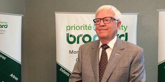 Meubles italiens: Paul Leduc, le maire de Brossard, s'en tire pour une question