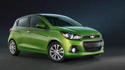 La Chevrolet Spark devient la plus abordable au Canada