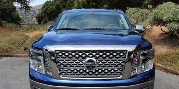 Premier contact Nissan Titan Crew Cab 2017 : Un défi titanesque à