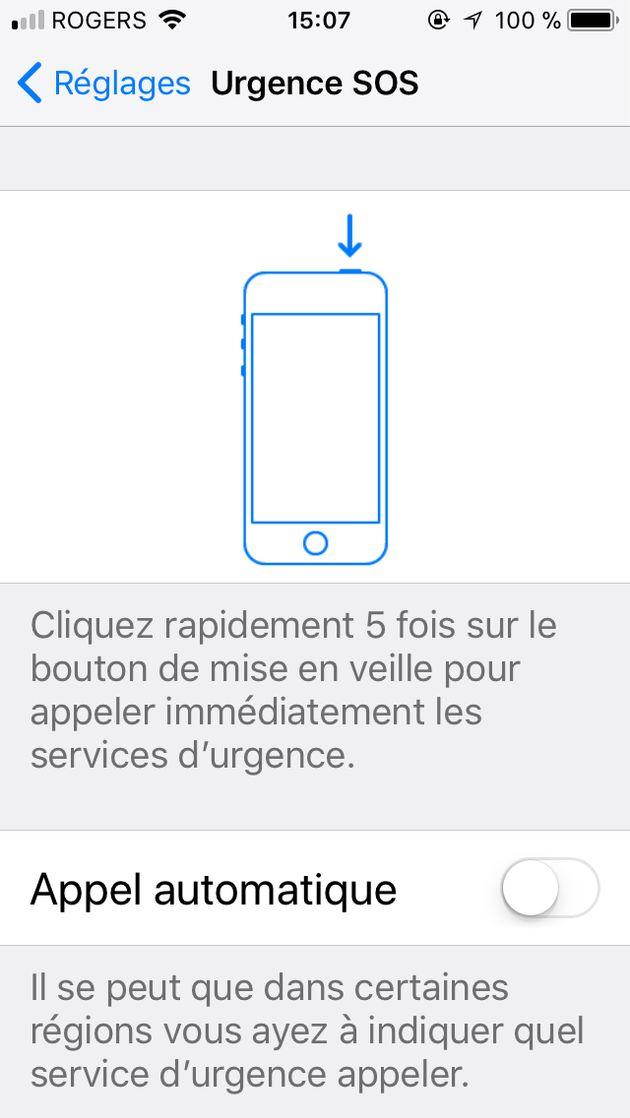 Les services d'urgence d'iOS pour Apple apportent une avancée pour les