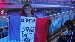 L'astucieuse technique de cette Française présente à Rio pour trouver un