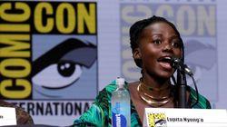 Lupita Nyong'o s'éclate incognito au «Comic Con» de San