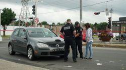 Une piétonne frappée par une voiture à Québec et gravement