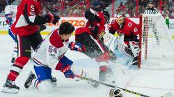 Le Canadien subit une quatrième défaite