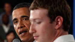 Obama avait mis en garde Zuckerberg sur l'influence