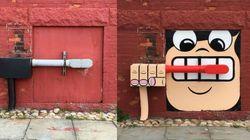 Cet artiste new-yorkais transforme les objets les plus improbables en street-art et c'est