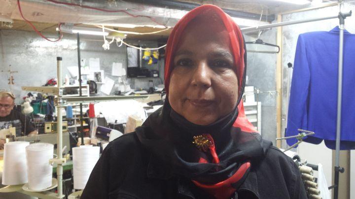 Zakia Zoukri, couturière