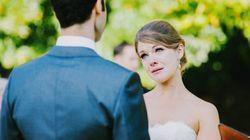 20 superbes photos de mariées qui étaient très émotives lors de la
