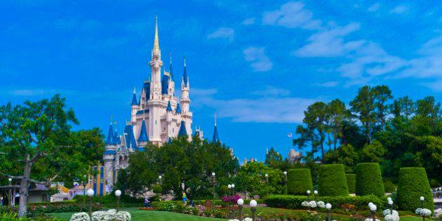 Cinderella Castle, Magic Kingdom, Walt Disney World, Orlando, Florida