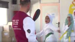 Cette jeune réfugiée syrienne rêve de devenir championne de