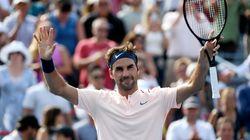 Couper Rogers: Roger Federer rejoint Robin Haase en