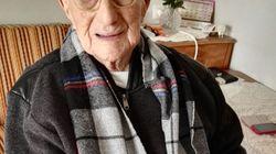 Le plus vieil homme au monde est