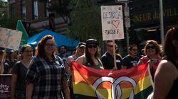 La marche pour la diversité sexuelle à Montréal en