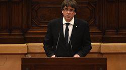 Catalogne: Puigdemont suspend la déclaration