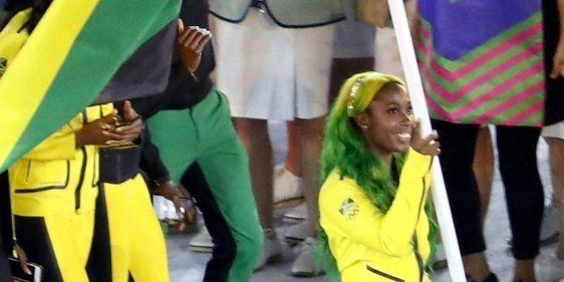 La Jamaïcaine Shelly-Ann Fraser-Pryce a déjà remporté la médaille du meilleur look à Rio