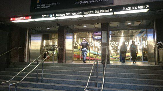 Festival Otakuthon : un homme peut-être armé sème la confusion à la station de métro Place-d'Armes
