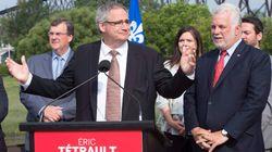 Les libéraux défendent leur candidat Éric Tétrault, attaqué sur son
