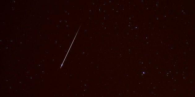 Un météore aurait traversé le ciel de Saint-Jean, à