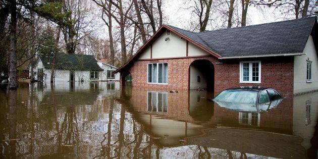 Inondations printanières: 223 millions $ en dommages au Québec et en
