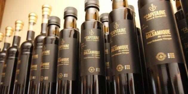 Du vinaigre balsamique de qualité fait au