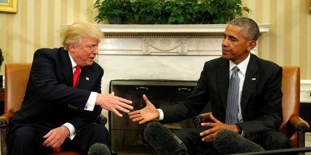 Obama a fait l'éloge de la démocratie dans sa lettre à