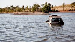 Un homme arrêté pour avoir tenté de traverser une rivière en