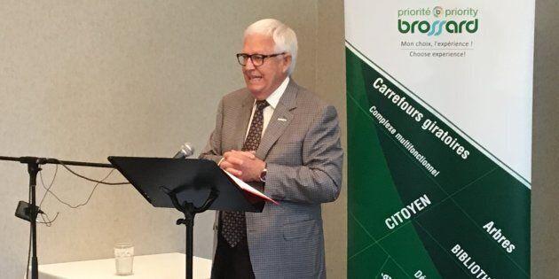 Paul Leduc, le maire de Brossard, sollicite un nouveau