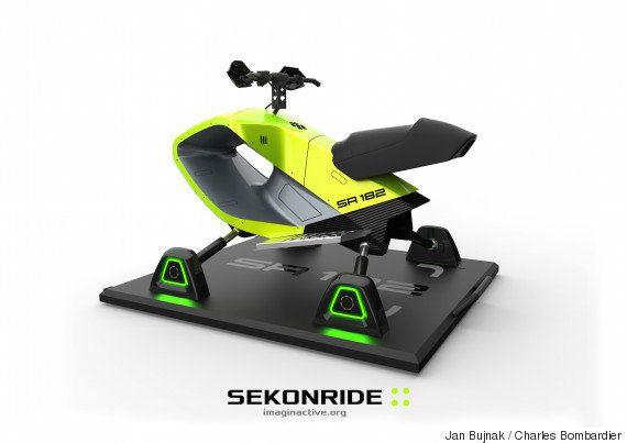 Sekonride: un produit récréatif