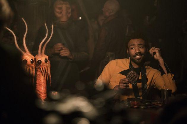 Donald Glover incarne Lando Calrissian dans