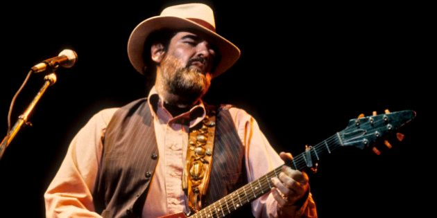 BERKELEY, UNITED STATES - OCTOBER 11: Lonnie Mack performing at the Greek Theater in Berkeley on October...