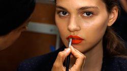 Cet automne les lèvres se colorent de rouge, de bourgogne et