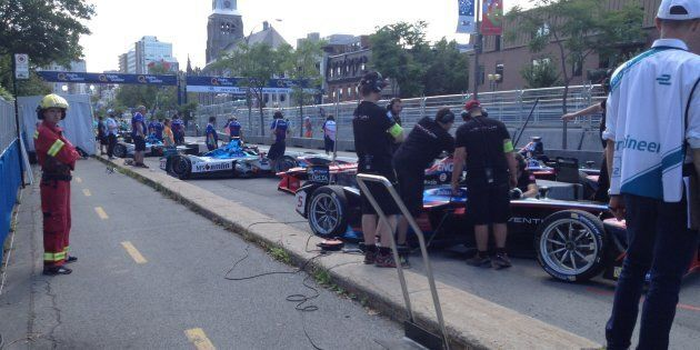 Formule E: pas de chiffres avant les