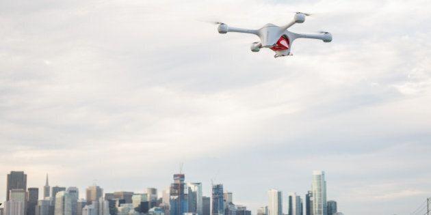 Foremost, seul lieu au Canada où les drones peuvent voler haut et
