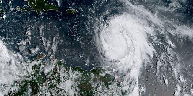 Maria devient un ouragan extrêmement dangereux de catégorie