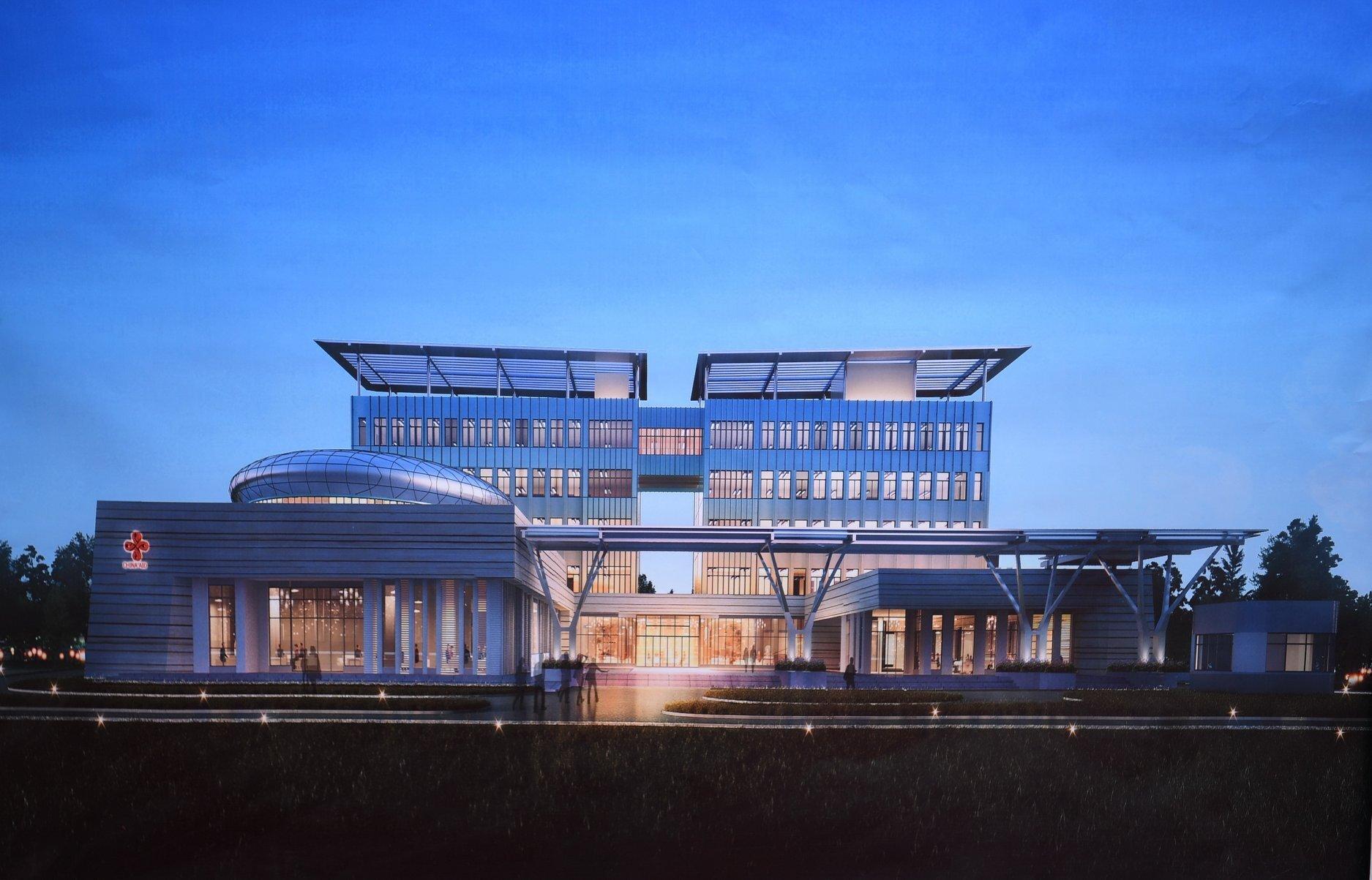La première pierre de la future Académie Diplomatique