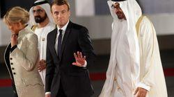 Le président français dénonce l'obscurantisme en inaugurant le Louvre Abu