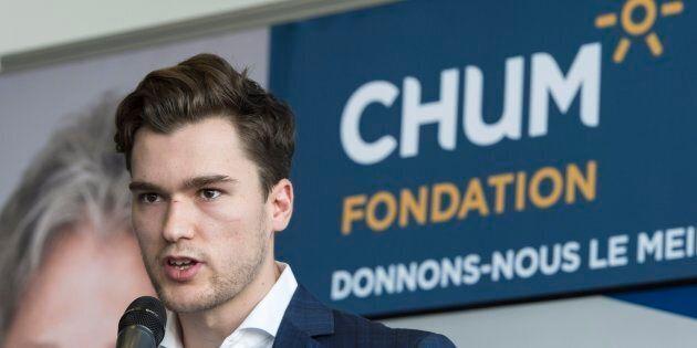 Le nouvel attaquant du Canadien fait un don de à la Fondation du