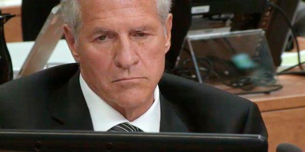 Tony Accurso à la commission Charbonneau, 3 septembre 2014.
