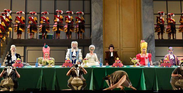 Réjouissante mise en scène pour « La Cenerentola » à l'Opéra de