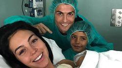 Cristiano Ronaldo de nouveau papa, cette fois d'une petite