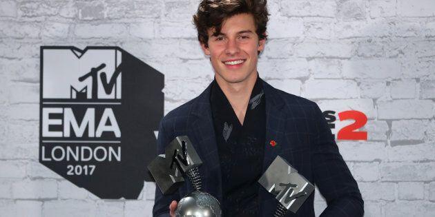 Le chanteur canadien Shawn Mendes sacré meilleur artiste aux MTV
