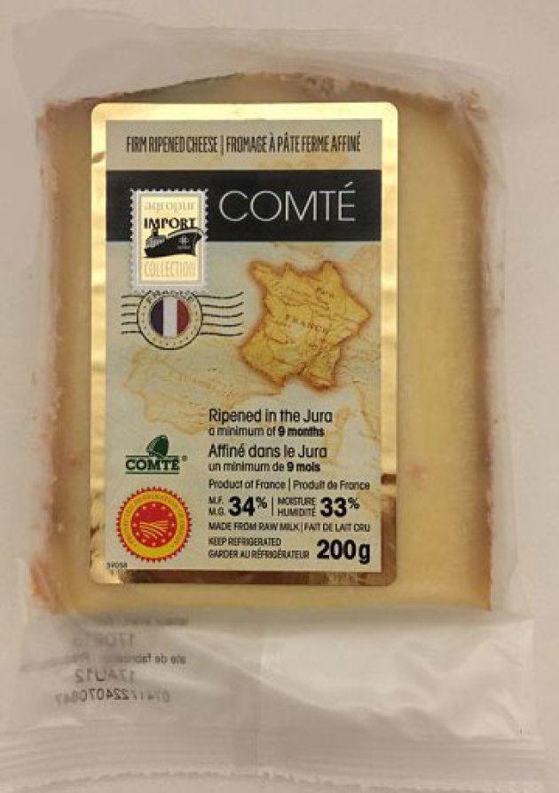 Avis de rappel: des fromages Comté pourraient être contaminés à la Listeria