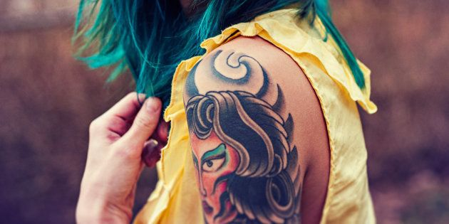 Les tattoos peuvent s'infecter 15 ans
