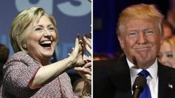 Clinton et Trump galvanisés après leur victoire à New