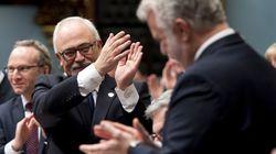 Mise à jour économique à Québec: baisses d'impôt et investissements en santé et en