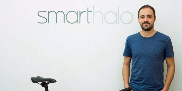 Le co-fondateur de SmartHalo Xavier