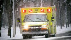 Estrie: deux personnes, dont un bébé, sont grièvement blessées après un