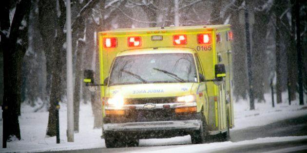 Weedon: deux personnes, dont un bébé, sont grièvement blessées après un